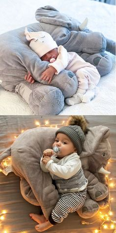 Plush Elephant Pillow Toy - Baby Toys , Plush Elephant Pillow Toy large elephant pillows cushion baby plush toy stuffed animal kids gift in Baby, Toys for Baby, Plush Baby Toys Windel winnie. So Cute Baby, Baby Elephant Nursery, Elephant Pillow, Elephant Baby Clothes, Elephant Game, Elephant Family, Girl Nursery, Baby Boy Toys, Baby Boy Gifts