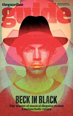 Beck stars new cover The Guardian Guide