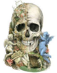Cool Skull tattoo