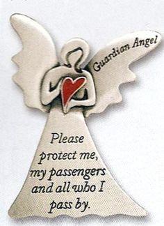 "Angel ""Guardian Angel"" Visor Clip #guardianangel"