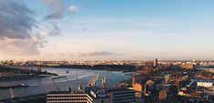 Overlooking the Port of Antwerp