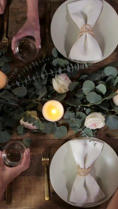 This easy eucalyptus garland is our go-to tabletop holiday centerpiece. Dinner guests don't have to know how easy it was to make this DIY garland. Use the garland like we did as a table runner or display it on top of a fireplace mantel for a pretty and fragrant decoration. Add in ornaments, flowers, or ribbon to this classic and perfectly neutral garland. #thanksgivingcenterpiece #diygarland #holidaytablesetting #thanksgivingtablescapes #bhg Decor Crafts, Fun Crafts, Home Decor, Wedding Toasting Glasses, Wedding Reception Lighting, Eucalyptus Garland, Thanksgiving Centerpieces, Diy Garland, Creative Crafts