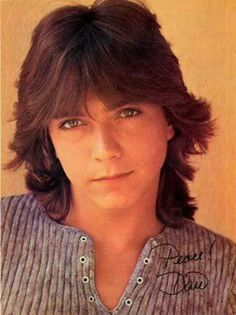 David Cassidy - my very first crush. I think I love you. David Cassidy, My Childhood Memories, Summer Memories, School Memories, Teenage Years, My Memory, The Good Old Days, Back In The Day, Make Me Smile