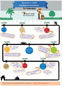 2015 long weekend travel planner for hyderabadis