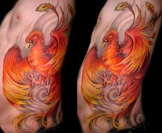 Perhaps the phoenix is better known as the bird of fire. Description from trend-tattoos.blogspot.co.nz. I searched for this on bing.com/images