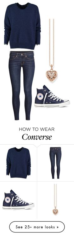 """Untitled #883"" by sarah6623 on Polyvore featuring Thomas Sabo, H&M and Converse"