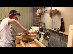 » Making a Wooden Bangle | Router Lathe Carving - Woodworking Crazy