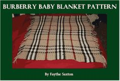 Burberry Blanket Pattern