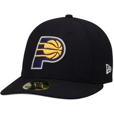 quality design 3f313 f3e3c Men s Indiana Pacers New Era Navy Official Team Color Low Profile 59FIFTY  Fitted Hat,
