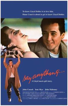 Say Anything John Cusack Movie Rare Vintage Poster