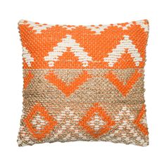 Enjoy afternoon reading or a relaxing evening at home with this chic and cozy couch companion. Gorgeously hand-woven from a mixture of jute, chindi, cotton, and chenille, this Elida Throw Pillow featur...  Find the Elida Throw Pillow, as seen in the Under the Harvest Moon Collection at http://dotandbo.com/collections/under-the-harvest-moon?utm_source=pinterest&utm_medium=organic&db_sku=112498