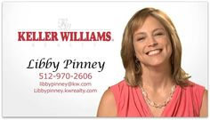 Libby Pinney, Keller Williams Realtor in Austin, TX | business video pages | Video proFile