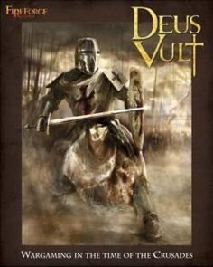 Deus Vult - Crusader war game. I'm not a big war gaming fan (usually too expensive) but this would be up my ally.