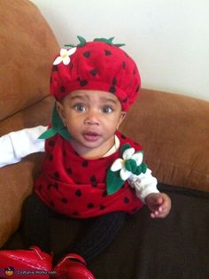 my little strawberry funny stuff pinterest baby halloween costumes babies and baby halloween - Strawberry Halloween Costume Baby