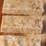 No Bake Cashew Coconut Protein Bars- 1 bowl and 5 minutes is all you'll need to whip up these healthy, delicious bars- #vegan #glutenfree #highprotein and no oven required! -thebigmansworld.com