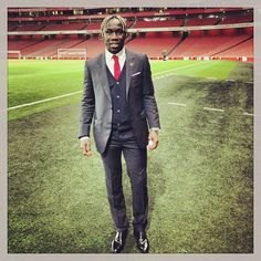 Sagna in a suit !!
