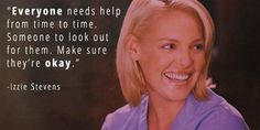 4. When Izzie Reminded Us That People Need People