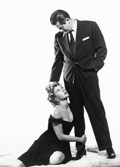 Glenn Ford & Gloria Grahame, in 'The Big Heat, 1953.