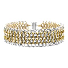 Bracelet Inspiration :)  LOVE ChainMaille.