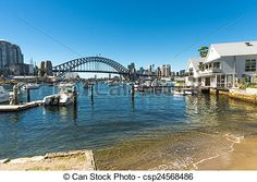 Stock Photo - The city from Lavender bay - stock image, images, royalty free photo, stock photos, stock photograph, stock photographs, picture, pictures, graphic, graphics