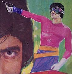 Supremo - The Indian Super Hero created by Gulzar (based on Amitabh Bachhan character in films)