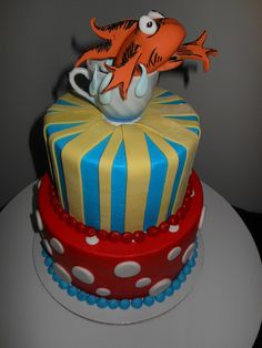 Dr. Suess Cake by The Cake Company of Canyon, via Flickr
