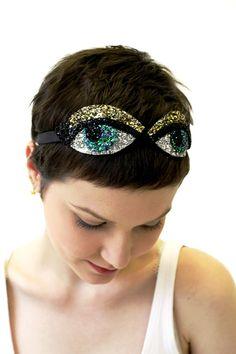 Glitter Eyes Headband
