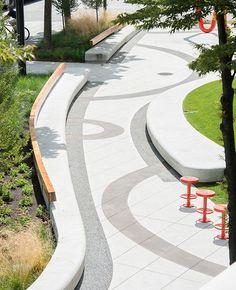 Project Name: Mid Main Park // Landscape Architect: HAPA Collaborative // Project Location: 3333 Main Street Plaza // Year of construction: 2013 >> via Landezine