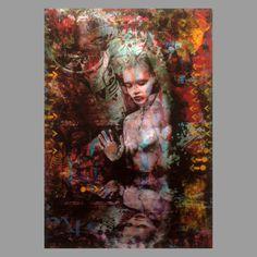 TrxtrMixed media on x 26 inchesUnique Glass Ceiling, Dark Side, The Darkest, Artist, Painting, Artists, Painting Art, Paintings, Paint