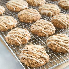 Apple-Walnut Oatmeal Cookies from The Little Epicurean