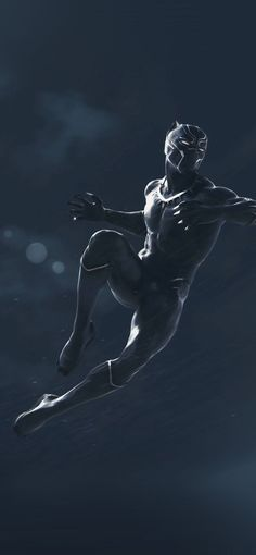 bd98-marvel-blackpanther-dark-art-illustration via iPhoneXpapers.com  Wallpapers for iPhone X