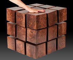 Float Levitating Table. Floating TableWooden CubesLevitateSide ... Good Ideas