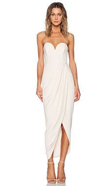 Rehearsal dinner option. Shop for Shona Joy Bustier Draped Maxi Dress in Nude at REVOLVE. Free 2-3 day shipping and returns, 30 day price match guarantee.