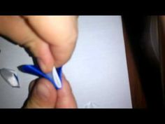 новый лепесток канзаши - YouTube