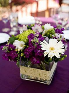 Love the daisys with the purple