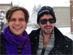 Fun with Gubler in the snow...what else could one need?