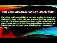 Make Life Easy With Cash Advance Payday Loans