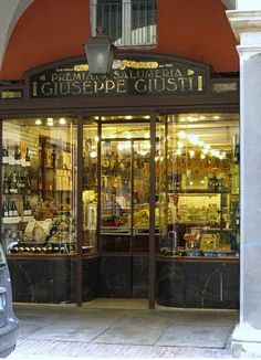 Modena a  town in the Emilia-Romagna region of Italy -Salumeria Giusti gastronomia sofisticata dal 1605
