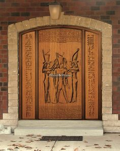 Coronation door is a single Door with two sidelites,with drilling wood, it's material: Type of wood depend on your desire, and size: 230 x 185 cm. For more product and details please visit us at: http://windandwave-eg.com/index.php?lang=en and contact us at: info@windandwave.com