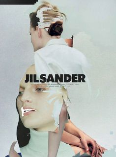 Jil Sander -- collage - human manipulation