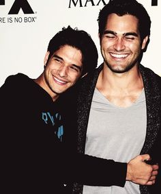 Teen wolf. Tyler Posey and Tyler H