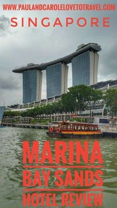 We treated ourselves to a stay at the Marina Bay Sands Hotel in Singapore. Have a read to see what we thought!