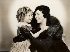 shirley temple | Shirley Temple with her mother, Gertrude Temple, 1930s.