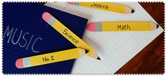 ADORABLE! Craft Stick Pencil Bookmarks by craftsbyamanda.com
