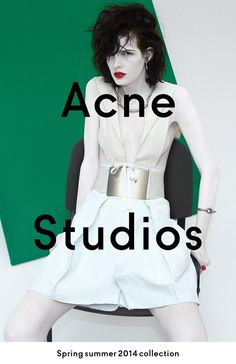 Zlata Mangafic for Acne Studios Spring/Summer 2014 Campaign by Viviane Sassen Ad Fashion, Fashion Images, Fashion Studio, Editorial Fashion, Color Fashion, Fashion Company, Editorial Design, Fasion, Acne Studios
