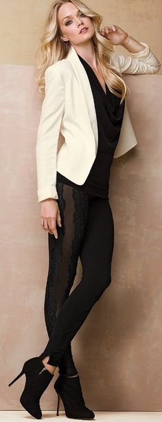 lace leggings ♥✤ | Keep the Glamour | BeStayBeautiful
