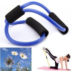 amazones gadgets 3X Yoga Resistance Bands Tube Fitness Muscle Workout Exercise Tubes 8 Type Bl: Bid: 23,72€ Buynow Price 23,72€ Remaining…