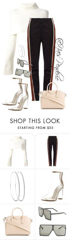 """""""Untitled #117"""" by naes-penderie on Polyvore featuring Maison Margiela, Wales Bonner, Cape Robbin, Givenchy and Yves Saint Laurent"""