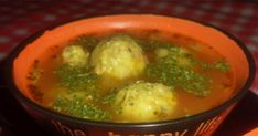 The meatballs soup is a great favorite of the family, now I made mushrooms without meat and fascinated them! Kurtos Kalacs, Meatball Soup, Mashed Potatoes, Stuffed Mushrooms, Food And Drink, Dishes, Chicken, Baking, Breakfast