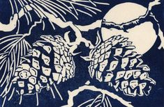Enlightenment: Hand-lifted Woodblock Print by ErinKNolan on Etsy
